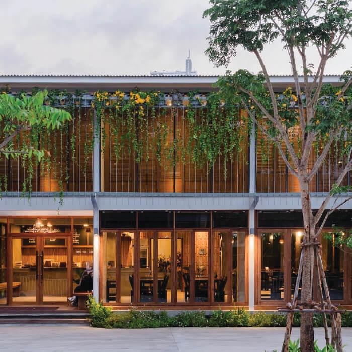sp20 brick barns courtyard restaurant supar architecture studio