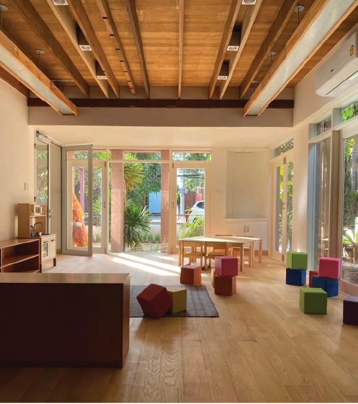 sp4 curious kind childhood center0D supar architecture studio